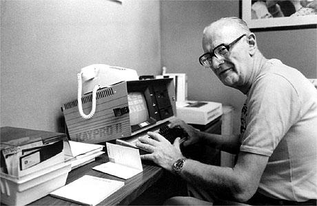 Arthur C. Clarke (Rex Features/MGM)